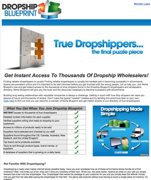 Dropship Blueprint