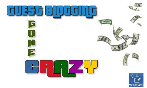 Guest Blogging Gone Crazy Contest