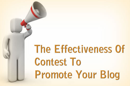 blog promotion with contest