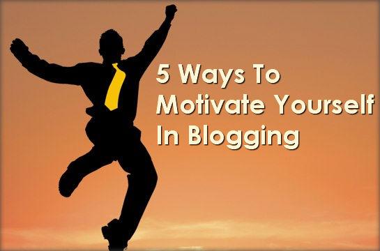 blogging tips for motivating