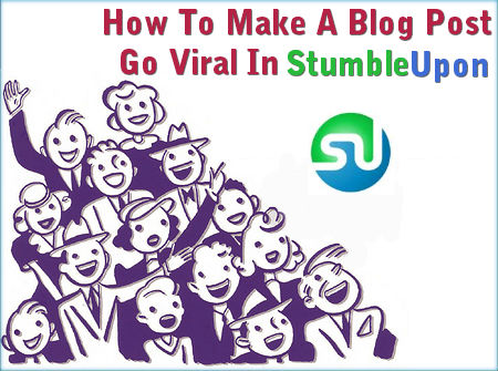viral marketing on stumbleupon