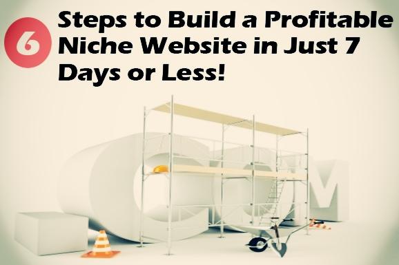 profitable niche website