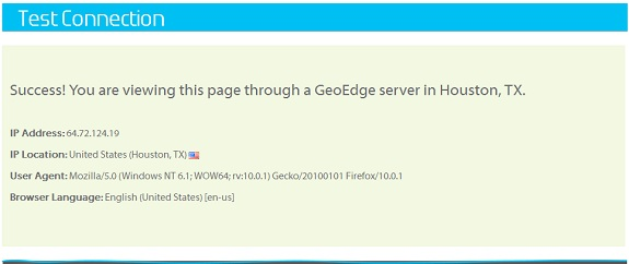 Geo Edge Connection